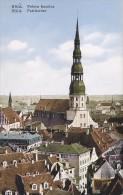 Lettonie - Latvia - Riga - Petera Baznica - Fine Postmarked 1937 - Letonia