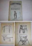 Catalogue Ancien MULLER-RAGON Bandages Hernières (avant 1900 , Autour De 1883) - Livres, BD, Revues