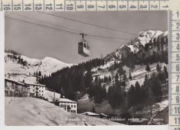 Bergamo  Foppolo Caratteristica Veduta Con Funivia  1955 - Bergamo