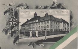 Litho AK Arnsdorf Landesanstalt Lazarett Militaria bei Radeberg Dresden Langebr�ck Rossendorf Stolpen Pirna Wilschdorf