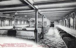 Transports > Bateaux> Paquebots Navarre Salon De Conversation Et Musique - Steamers