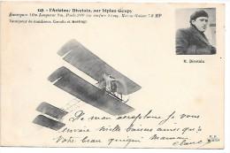 L'AVIATEUR DIVETAIN Sur BIPLAN GOUPY - Aviatori
