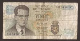 België Belgique Belgium 15 06 1964 20 Francs Atomium Baudouin. 3 K  9456687 - 20 Francs