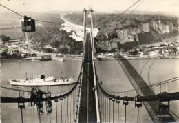 Le Pont De Tancarville. (Vue Prise Du Haut D'un Pylone) - Tancarville