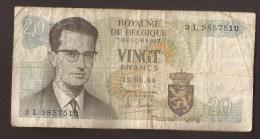 België Belgique Belgium 15 06 1964 20 Francs Atomium Baudouin. 3 L 9857510 - 20 Francs
