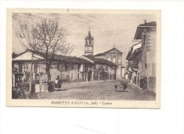 1071) PIEMONTE MARETTO D'ASTI VIAGGIATA 1948 FRANCOBOLLO ASPORTATO - Altre Città