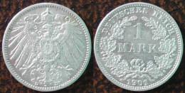 (J) GERMAN EMPIRE: Silver 1 Mark 1901D AU (1213)  SPECIAL SALE!!!!!!! - [ 2] 1871-1918 : Imperio Alemán