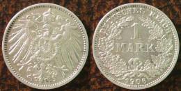 (J) GERMAN EMPIRE: Silver 1 Mark 1906E AU (1216)  SPECIAL SALE!!!!!!! - 1 Mark