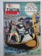 Tintin N° 6 De 1955 Couverture Graton ( Auteur De M. Vaillant )Bon état - Kuifje