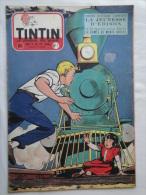 Tintin N° 7 De 1955 Couverture Graton ( Auteur De M. Vaillant )Bon état - Tintin