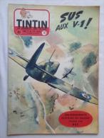 Tintin N° 10 De 1955 Couverture  Follet. Le Secret De L'homme En Noir, H.Vernes. Bon état - Kuifje