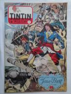 Tintin N° 11 De 1955 Couverture  Funcken. Le Secret De L'homme En Noir, H.Vernes. Bon état - Kuifje