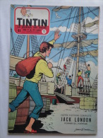 Tintin N° 15 De 1955 Couverture  De Graton. Le Secret De L'homme En Noir, H.Vernes. Bon état - Kuifje