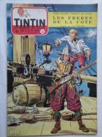 Tintin N° 16 De 1955 Couverture  De Funcken. Le Secret De L'homme En Noir, H.Vernes. Bon état - Kuifje