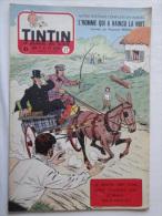 Tintin N° 17 De 1955 Couverture  De  Reding. Le Secret De L'homme En Noir, H.Vernes. Bon état - Tintin