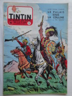 Tintin N° 20 De 1955 Couverture  De  Funcken. Le Secret De L'homme En Noir, H.Vernes. Bon état - Kuifje