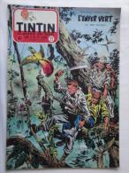 Tintin N° 22 De 1955 Couverture  De  Funcken. Le Secret De L'homme En Noir, H.Vernes. Bon état - Kuifje