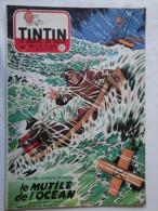 Tintin N° 23 De 1955 Couverture  De  Delcroix. Le Secret De L'homme En Noir, H.Vernes. Bon état - Tintin