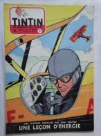 Tintin N° 27 De 1955 Couverture  De  Jean Graton.(auteur De M. Vaillant ) Bon état - Tintin