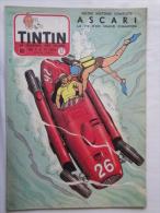 Tintin N° 32 De 1955 Couverture  + Histoire Complète De  Jean Graton..(auteur De M. Vaillant  Bon état - Tintin