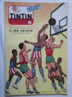 Tintin N° 43 De 1955 Couverture  Et Histoire Complète De Graton. Basket, Globe Trotters Bon état - Kuifje