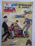 Tintin N° 48 De 1955 Couverture  Et Histoire Complète De Graton. .(auteur De M. Vaillant  Bon état - Tintin