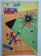 Tintin N° 49 De 1955 Couverture  De  Macherot. (auteur De Chlorophylle ) Bon état - Kuifje