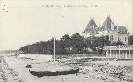 Arcachon - La Plage Du Moulleau, Villa - Carte C.B. N° 26 Non Circulée - Arcachon