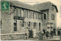 54 - JARNY - CAFE HOTEL CANTINE - ROUY - ATTELAGE DE CHIEN - BELLE CARTE - Jarny