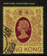 HONG KONG    Scott  # 400a  VF USED - Hong Kong (...-1997)