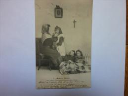 CP/MISERE ET CHARITE/animé/Mes Enfants Il Vous Faut Vous Lever Pour Aller à L´école - Carte N°1 - Postcards