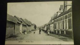 CPA   ( Plusieurs Scans) 60 MERY   LA PETITE RUE  ANIMEE  TB   1914 - Frankrijk
