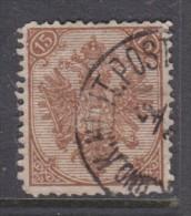 Bosnia & Herzegovina: 1879 -88, 15k, Brown, Perf 12.5 - 13,  Good Used Military C.d.s. - Bosnia And Herzegovina