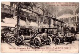 CPA LES AUTOMOBILES DELAUNAY BELLEVILLE - Passenger Cars
