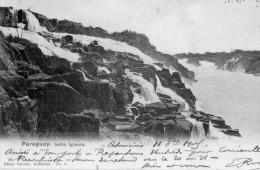 CPA PARAGUAY. Salro Iguazu. 1905 - Paraguay