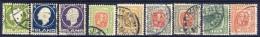#B585. Iceland 1911-15. 9 Items. Used. 15 Aur Short Perforation! - Usati