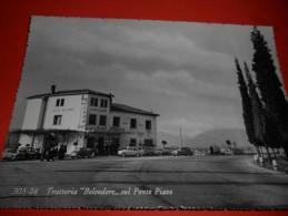 B306 Trattoria Belvedere Sul Ponte Piave Treviso No Viagg. - Other Cities