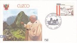 Pope John Paul II - Visit: 1985 Peru Cuzco  (G9-8) - Popes