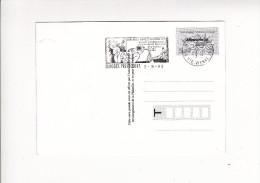 Carte BONNES VACANCES Phhilatelie Flamme Salon Dessin Presse Et Humour LIMOGES 1999 - Marcophilie (Lettres)
