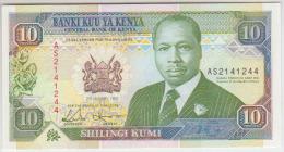Kenya 10 Shilingi 1992  Pick 24 UNC - Kenya