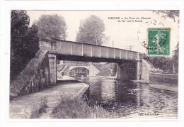 Decize Le Pont Du Chemin De Fer Sur Le Canal - Decize