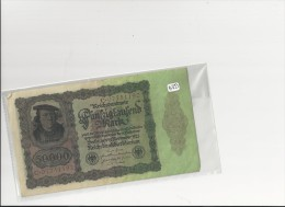 Billets -  B1293  - Allemagne  - 50  000 Mark 1922 ( Type, Nature, Valeur, état... Voir 2 Scans) - [ 3] 1918-1933 : Weimar Republic