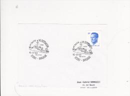 LETTRE Timbre Belge Tampon VLOOTDAGEN BRUGGE Journee De La MARINE Bateau ZM FN A962 Marine Oceanographique - Postmark Collection