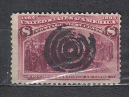 W1085 - STATI UNITI 1893 , Colombo Unificato N. 106 - Used Stamps