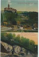 Clervaux (Klierf) - Benediktinerkloster Mit Bauerndenkmal / Altkeltisch-Trevirer Niederlassung (siehe Zustand !) - Clervaux