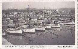 Espagne - Islas Baleares -  Mallorca -  Palma - Muelle Club Nautico - Bâteaux Pêche Port - Palma De Mallorca