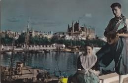 Espagne - Islas Baleares -  Mallorca -  Palma - Panorama Folklore Musique - Palma De Mallorca