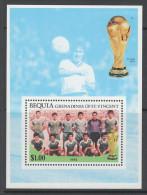 2 BLOCS NEUFS DE ST-VINCENT-GRENADINES BEQUIA - COUPE DU MONDE DE FOOTBALL 1974 - World Cup
