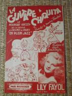 PARTITION - REVUE DU CASINO DE PARIS - EN PLEIN JAZZ - LA GUITARE A CHIQUITA - LILY FAYOL - Music & Instruments