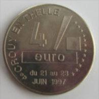 4 Euro Temporaire Precurseur De CROUY EN THELLE  1997, RRRR, NI, Nr. 247, Only 1900 Ex. - Euro Der Städte